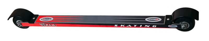 20b9a14224a2 Купить лыжероллеры для конькового хода elva каучуковое колесо d 70 mm с  доставкой по Москве и России