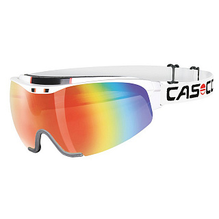 Визор CASCO SPIRIT CARBONIC (2 линзы в комплекте) White-rainbow