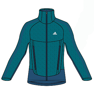 Куртка ADIDAS RU-FLEECE JACKET M 2014-2015